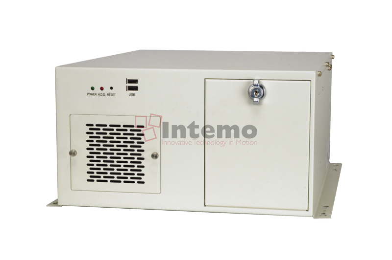 RoHS White IEI 3-Slot Half Size Chassis 180W with ACE-A618B
